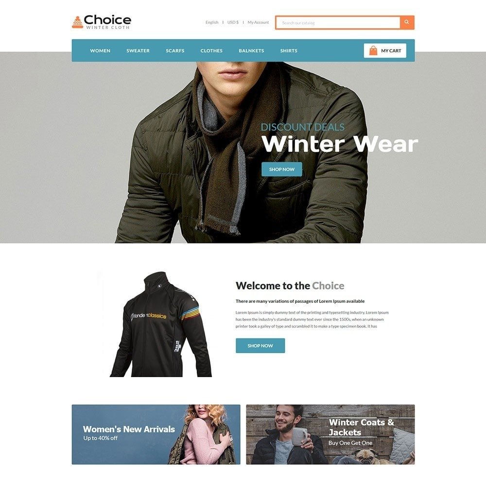 theme - Moda y Calzado - Choice Fashion Store - 2