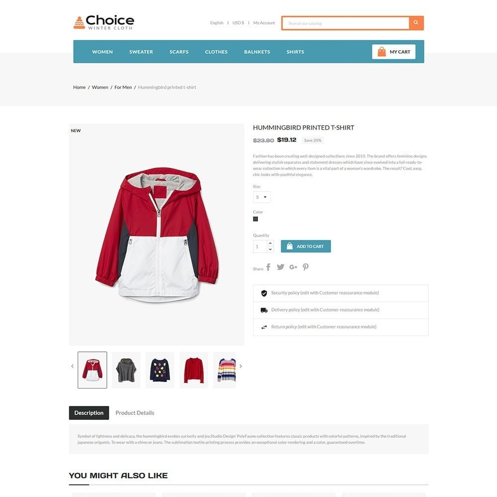 theme - Moda y Calzado - Choice Fashion Store - 5