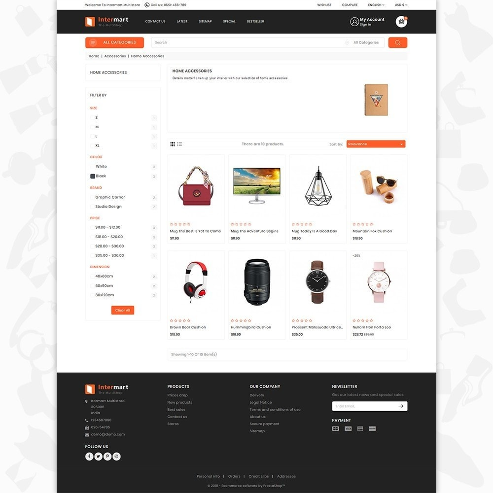 theme - Electronique & High Tech - InterMart - Online Shopping Mart - 3