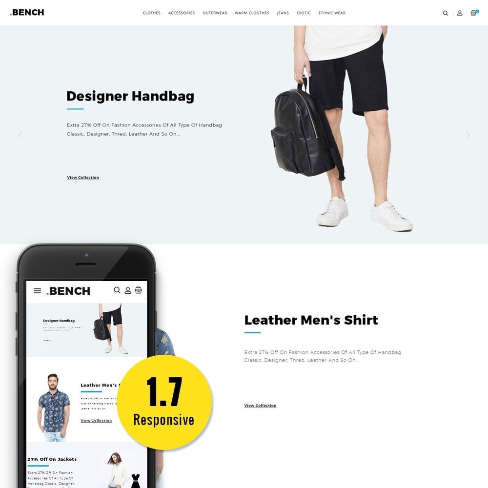 theme - Mode & Chaussures - Bench Fashion Store - 1