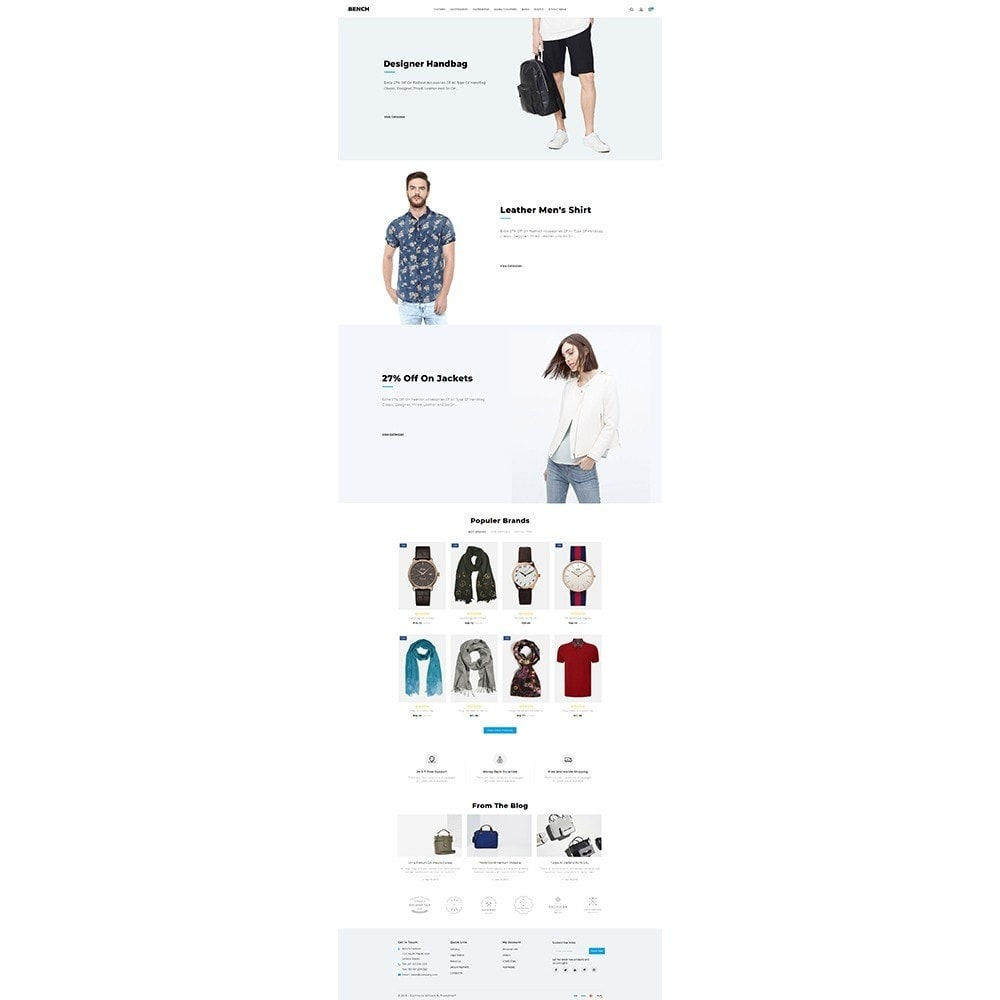 theme - Мода и обувь - Bench Fashion Store - 2