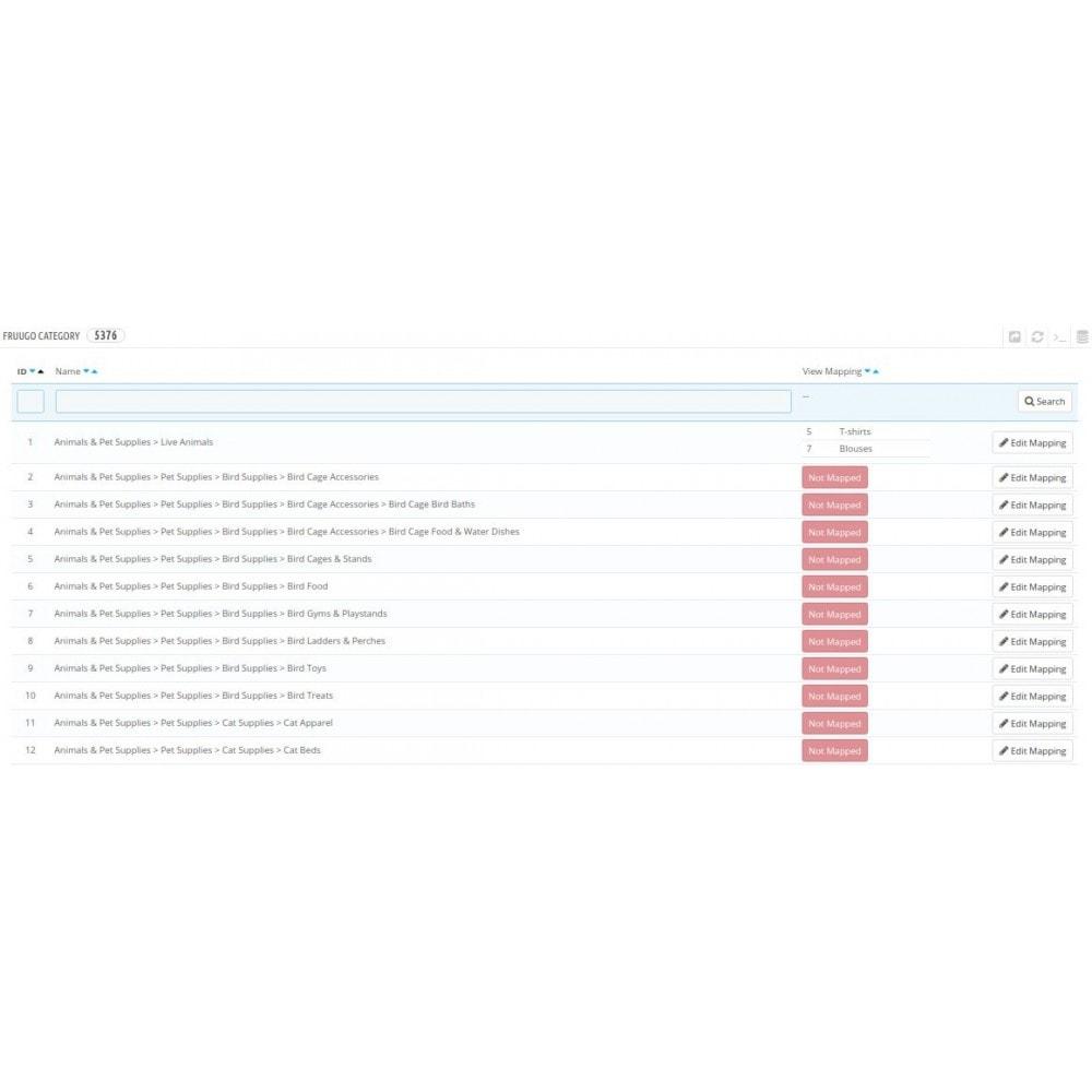 module - Revenda (marketplace) - Cedcommerce Fruugo Integration - 6