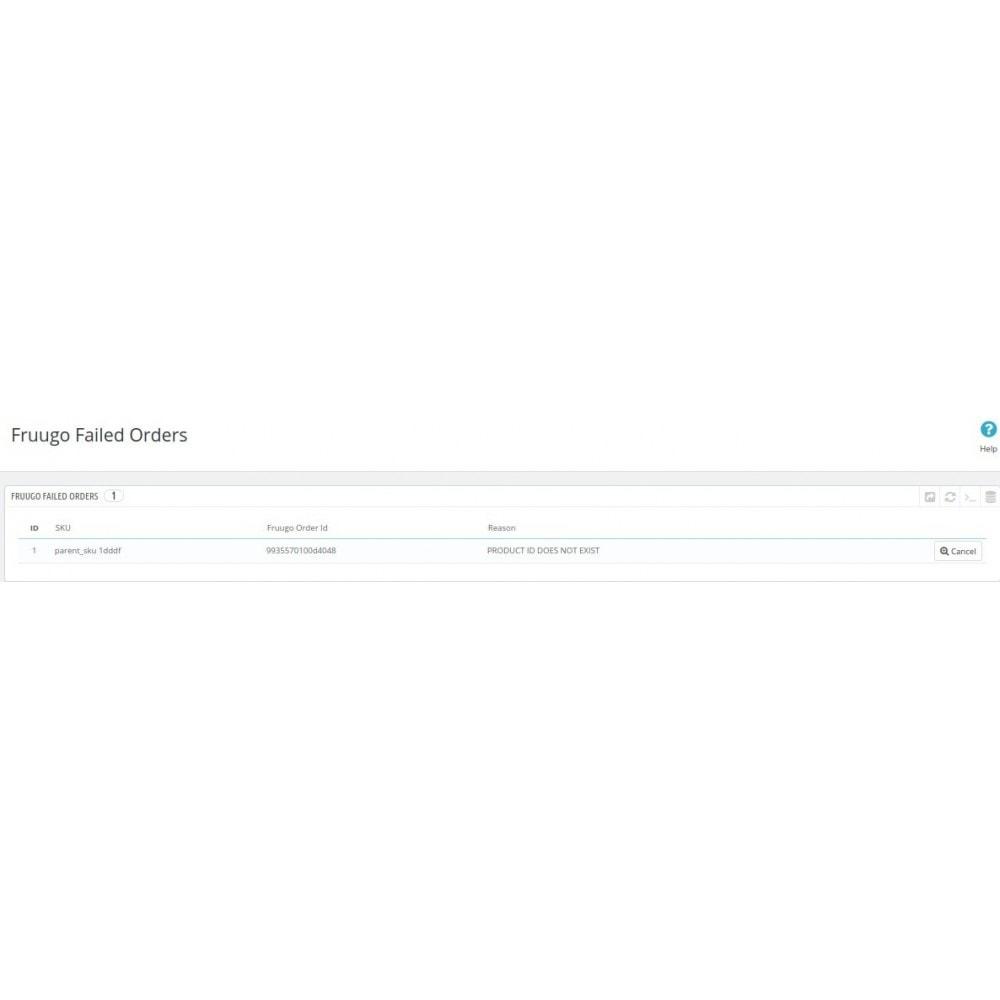 module - Revenda (marketplace) - Cedcommerce Fruugo Integration - 16