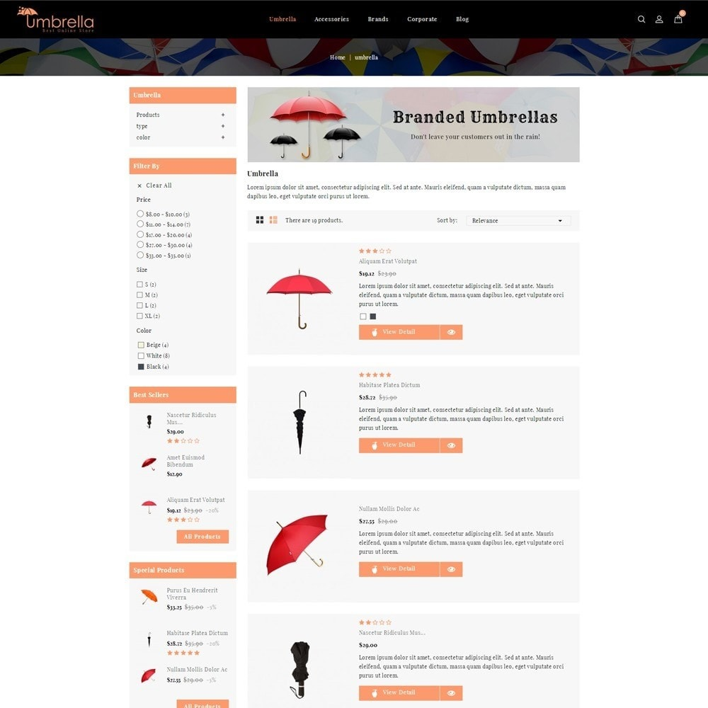 theme - Moda y Calzado - Umbrella Store - 4