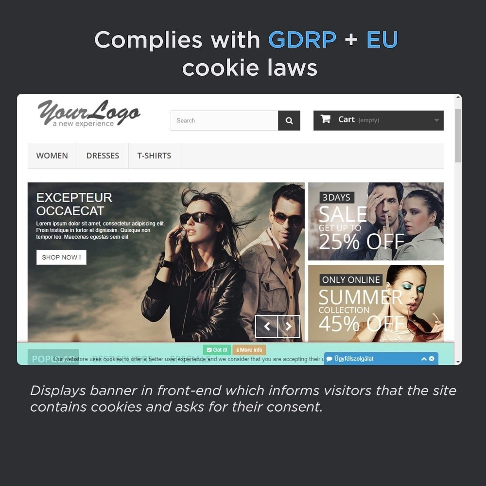 module - Legale (Legge Europea) - European Cookie Law Pro (GDPR compliant) - 2