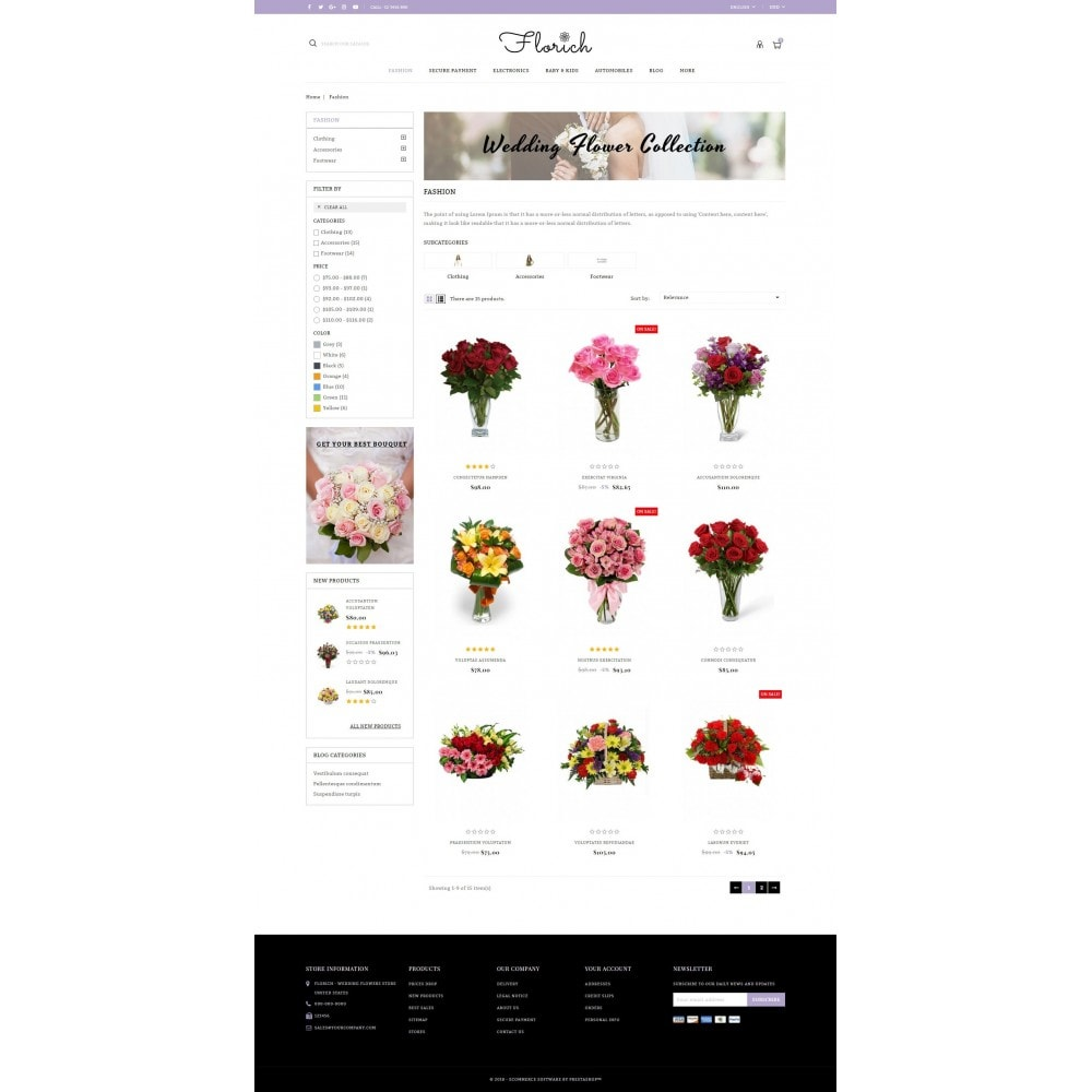 Florich - Wedding Flowers Store