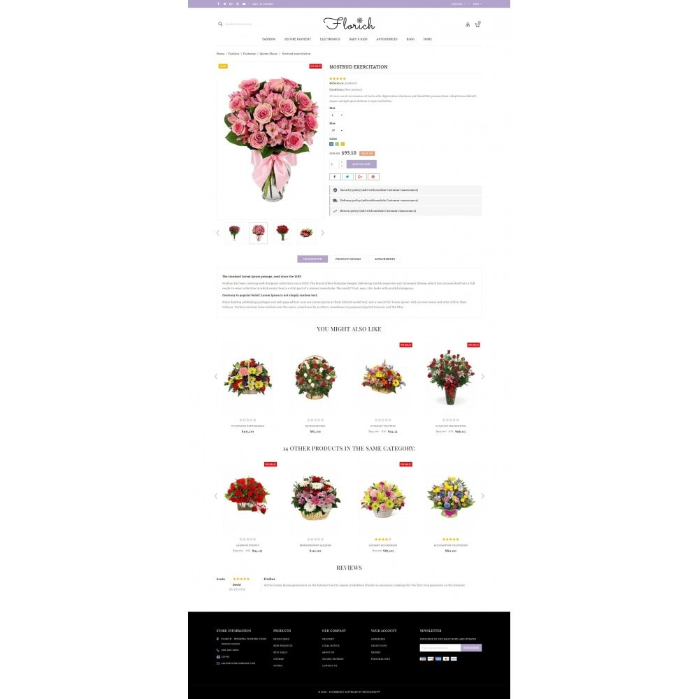 theme - Regali, Fiori & Feste - Florich - Wedding Flowers Store - 5
