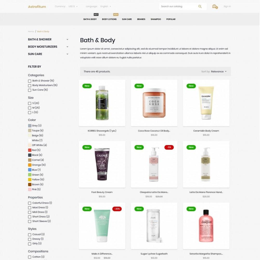 theme - Gesundheit & Schönheit - Astrofitum Cosmetics - 5