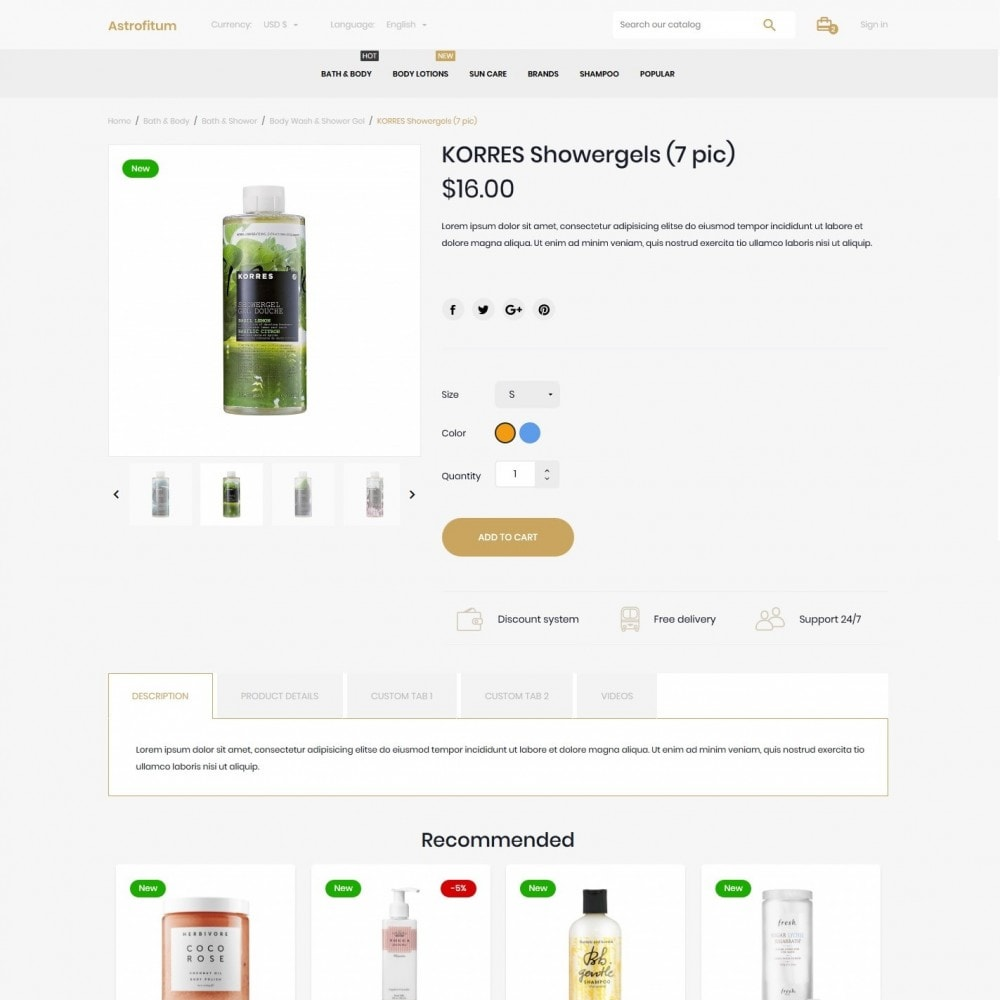 theme - Health & Beauty - Astrofitum Cosmetics - 6