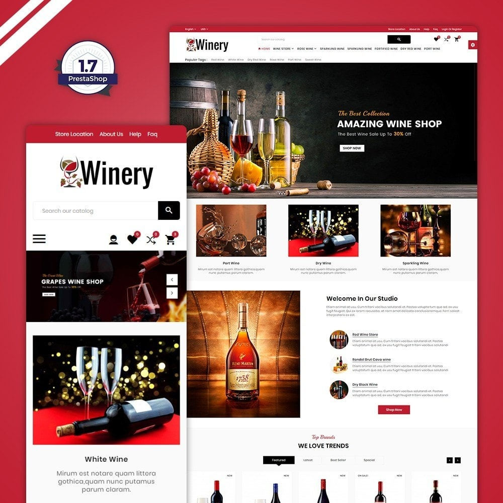 Winery – France Wine Shop