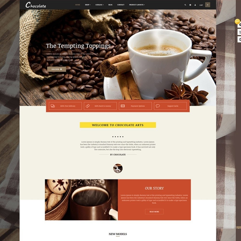 theme - Alimentation & Restauration - Leo Chocolatina - 8