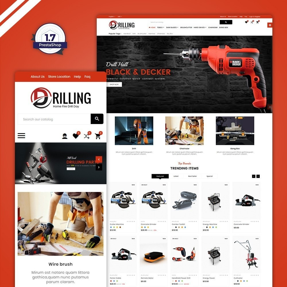 Drilling -Tools Mega Shop