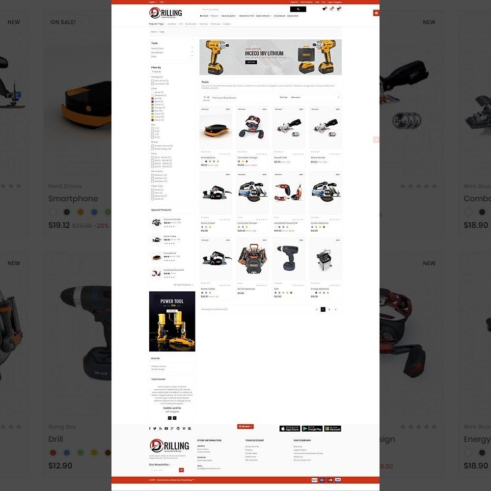 theme - Automotive & Cars - Drilling –Tools Mega Shop - 3
