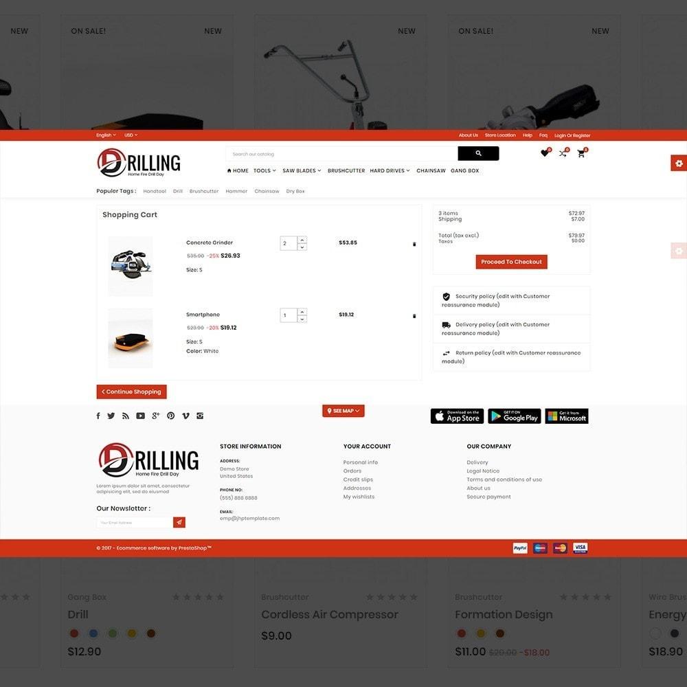 theme - Automotive & Cars - Drilling –Tools Mega Shop - 5