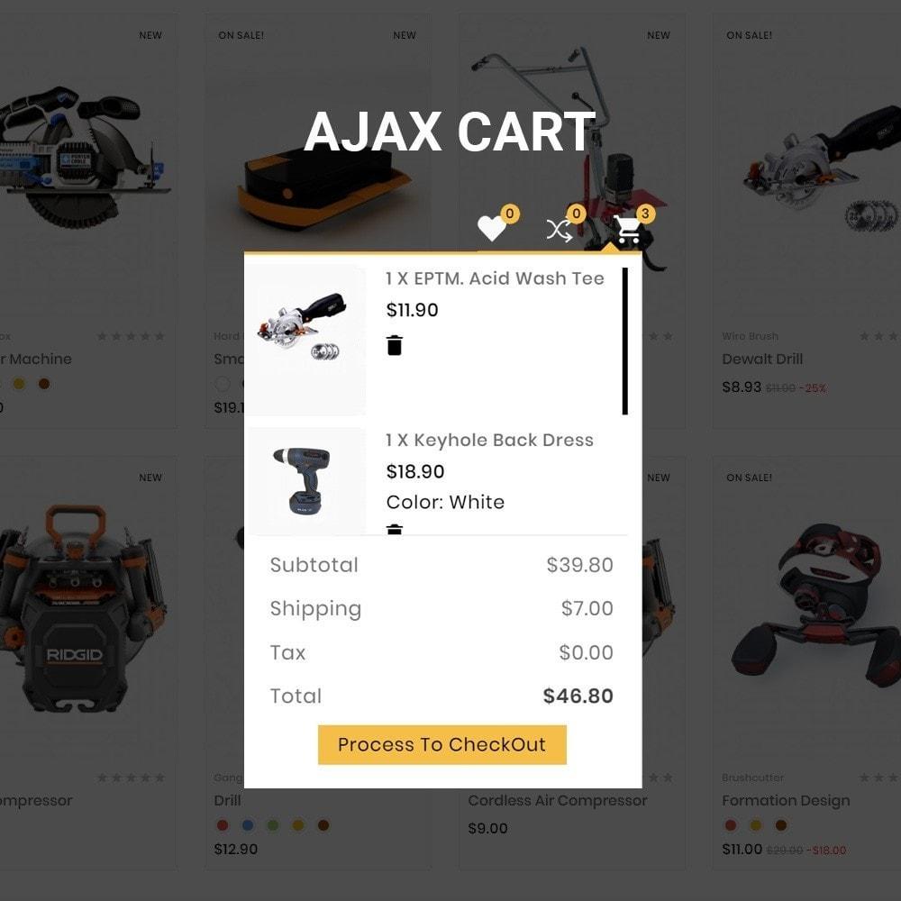 theme - Automotive & Cars - Drilling –Tools Mega Shop - 7