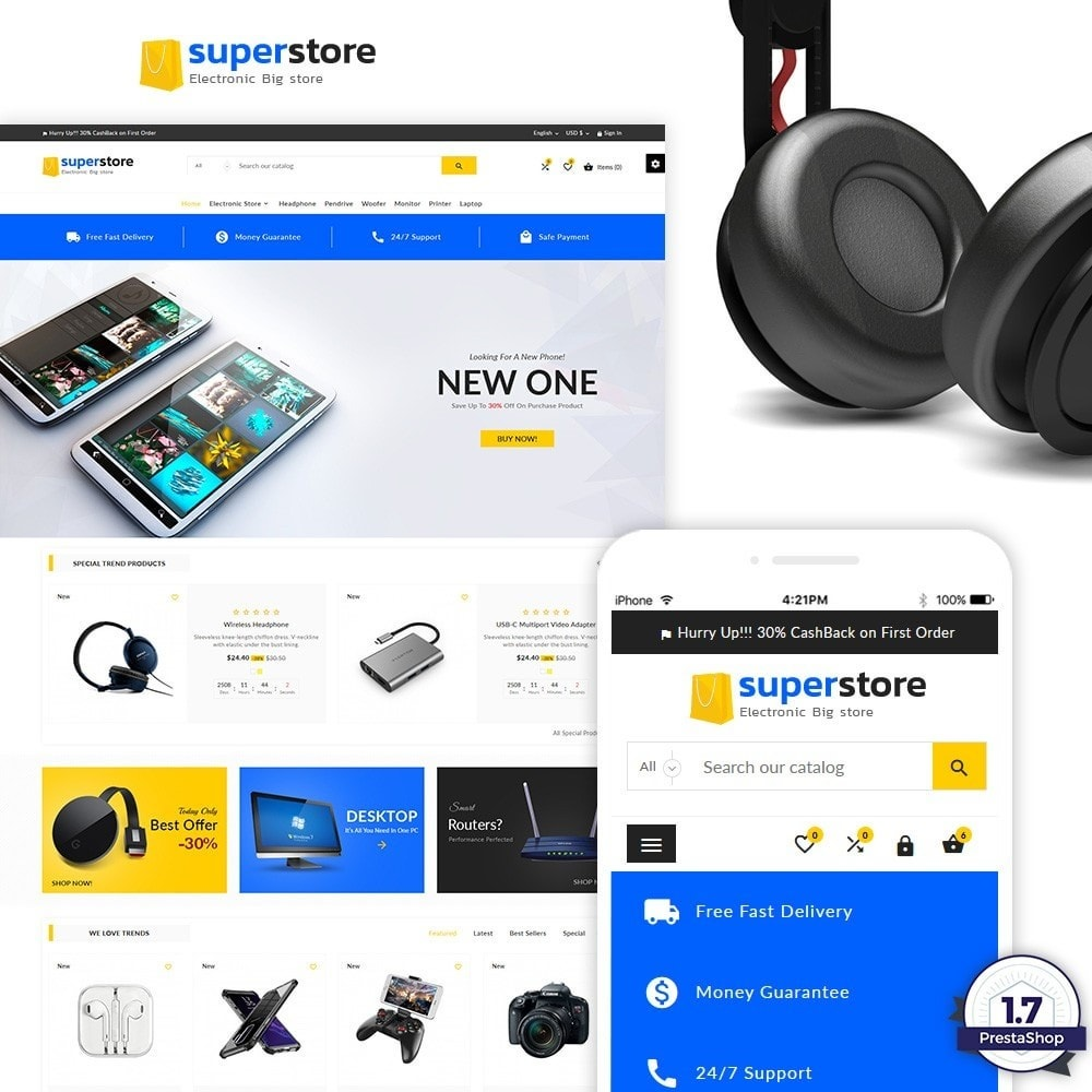 Super Store - Big Multi Store