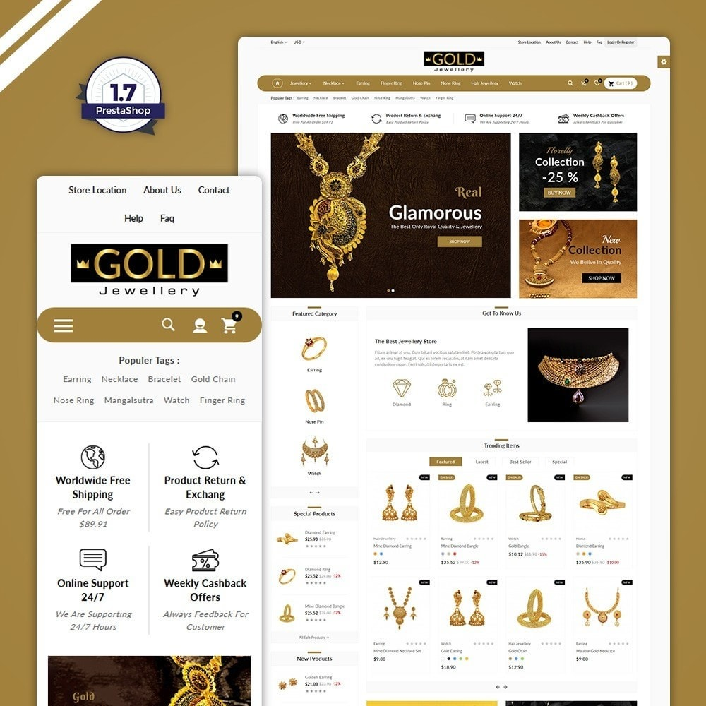 The Gold- Jewelry Store