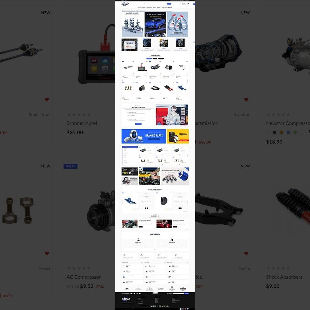 theme - Automotive & Cars - Auto Kart – Tools and Car Accessories Store - 2