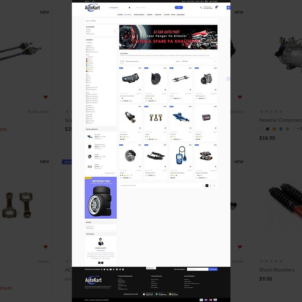 Auto Kart - Tools and Car Accessories Store