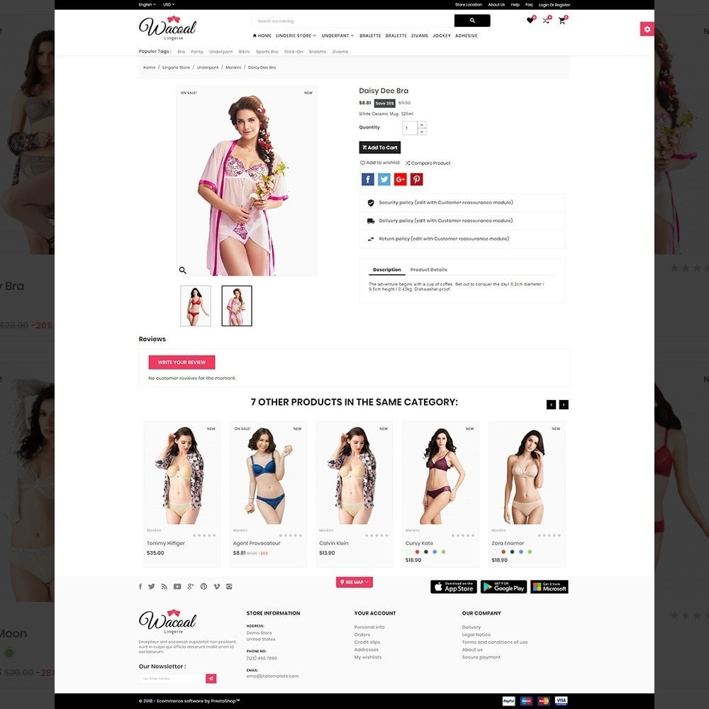 theme - Lingerie & Adult - The lingerie Store - 4
