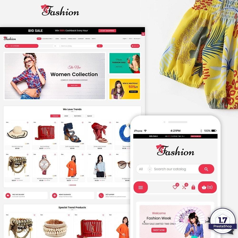 theme - Fashion & Shoes - Stylish Cloth Multi purpose Store - 1