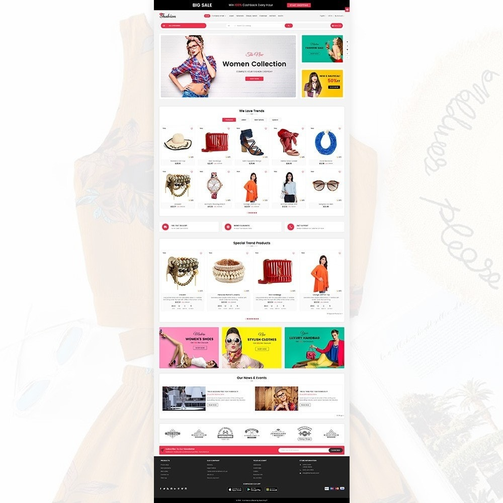 theme - Fashion & Shoes - Stylish Cloth Multi purpose Store - 2