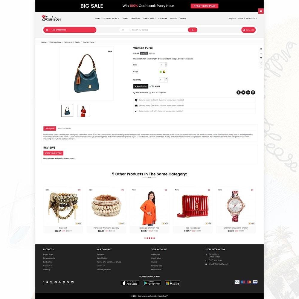 theme - Fashion & Shoes - Stylish Fashion Cloth Multi purpose Store - 5