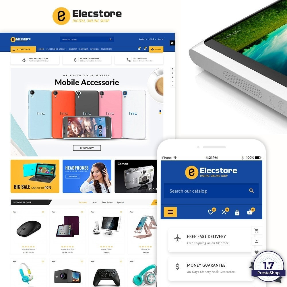theme - Electronics & Computers - Elec Store – Electronic Multipurpose Store - 1