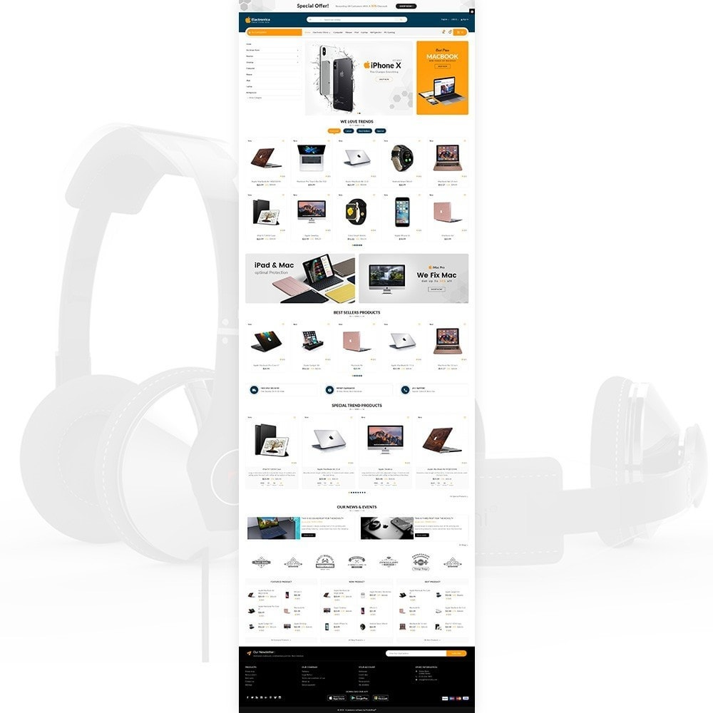 theme - Elektronica & High Tech - Electronica – Electronic Multipurpose Store - 2