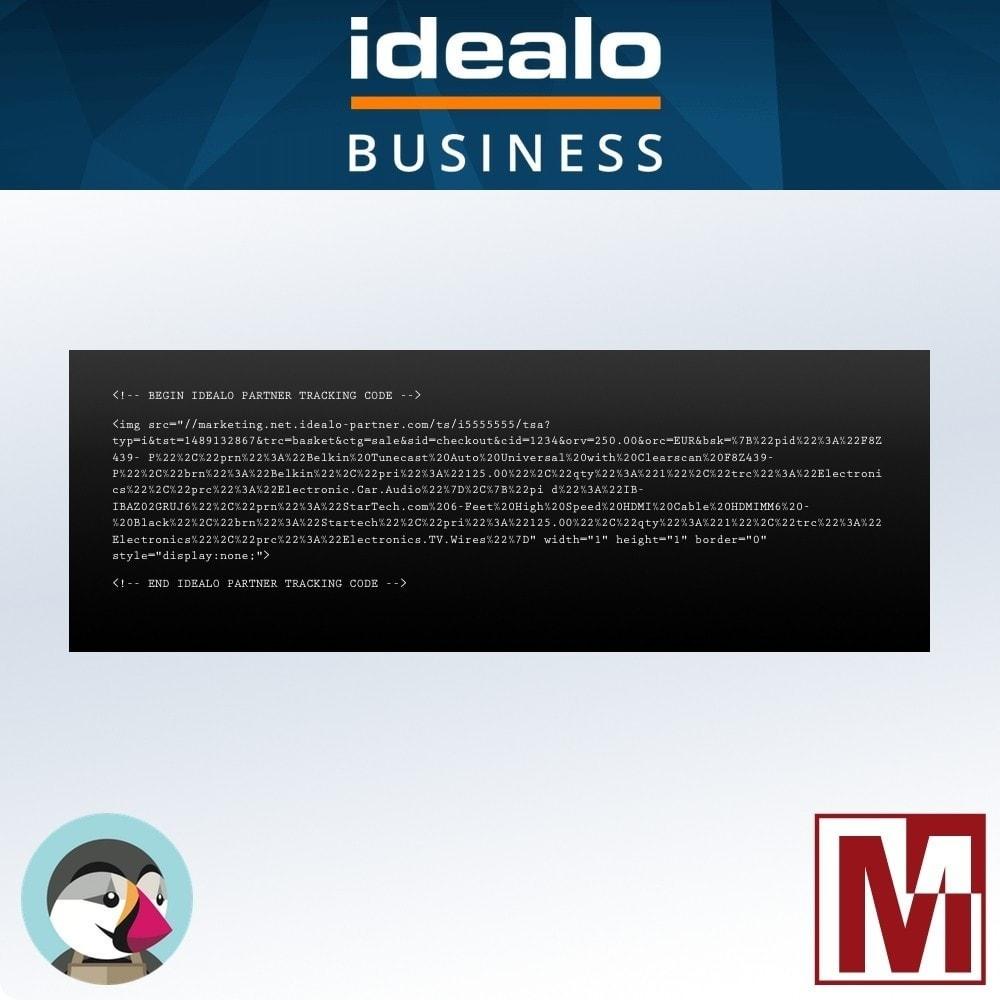 module - Gestion des Prix - Comparateur de prix IDEALO tracking pixel - 3