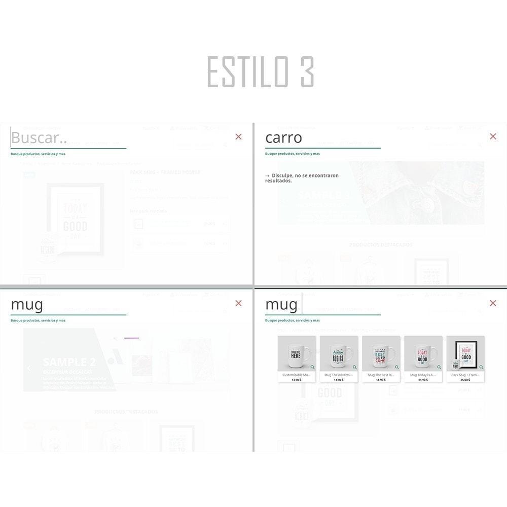 module - Búsquedas y Filtros - Búsquedas instantáneas y avanzadas | Buscador rápido - 5