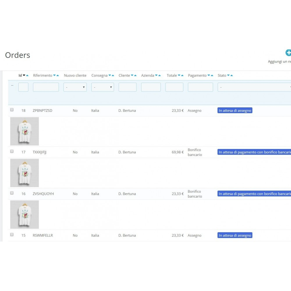 module - Combinations & Product Customization - Product images in orders list - 2