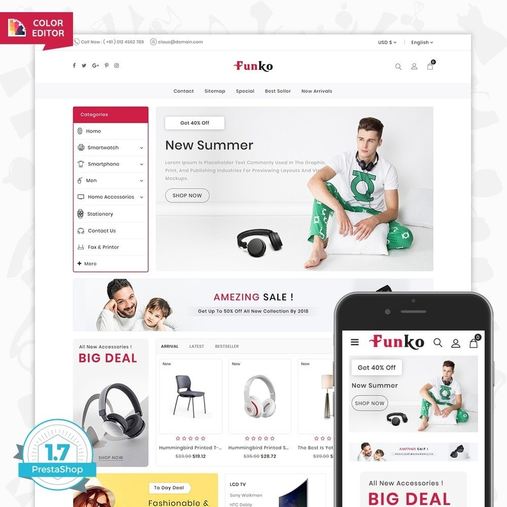 theme - Fashion & Shoes - Funko - The Smart Store - 1