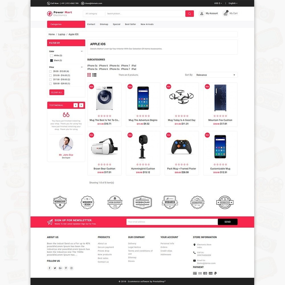 theme - Elettronica & High Tech - PowerMart - Digital Supermarket Store - 3