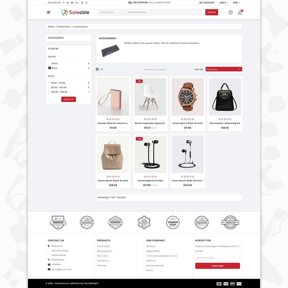Saleable - Online Shopping Trade