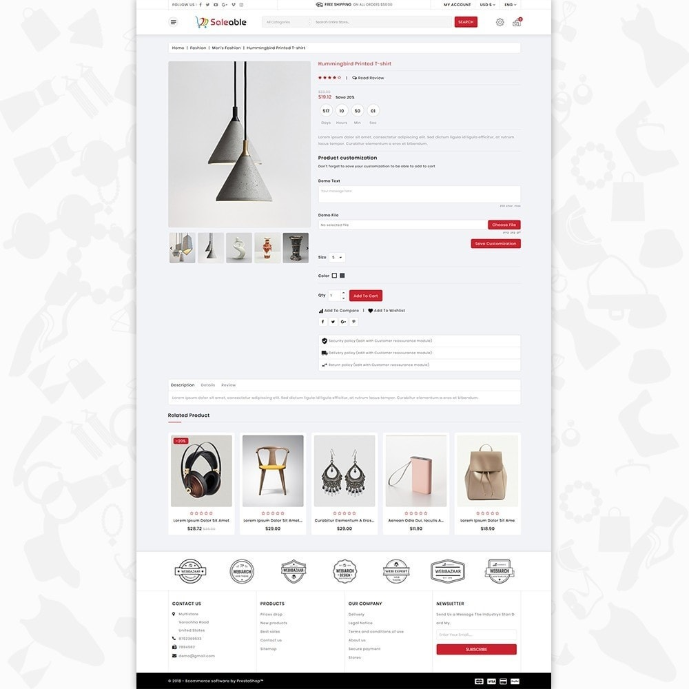 theme - Electronics & Computers - Saleable - Online Shopping Trade - 5