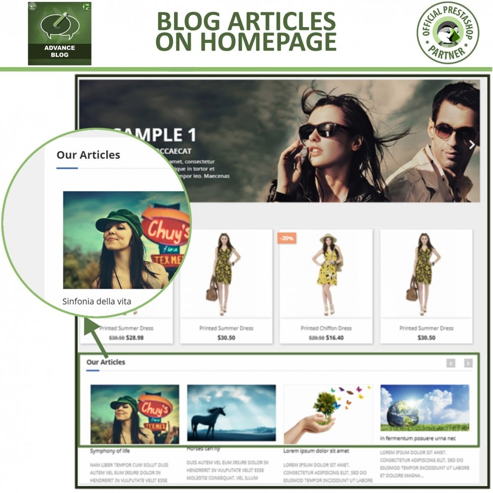 module - Blog, Forum & News - Responsive Professional Blog - SEO Friendly - 5