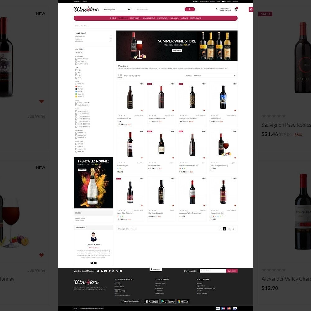 The Wine Store – France Wine Shop