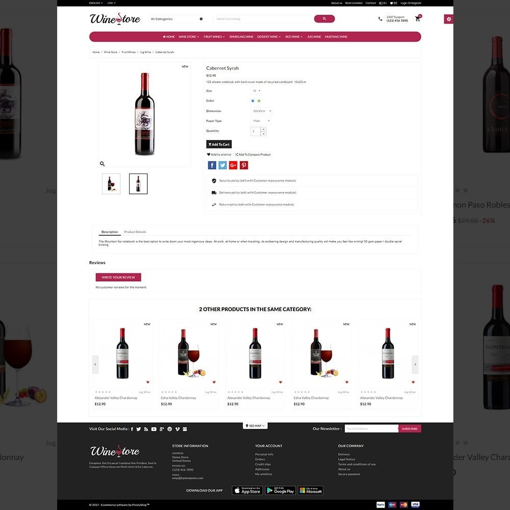 theme - Drink & Tobacco - The Wine Store – France Wine Shop - 4