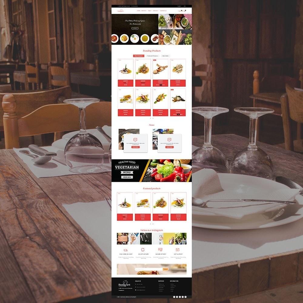 theme - Alimentation & Restauration - Magasin de restaurant - 3
