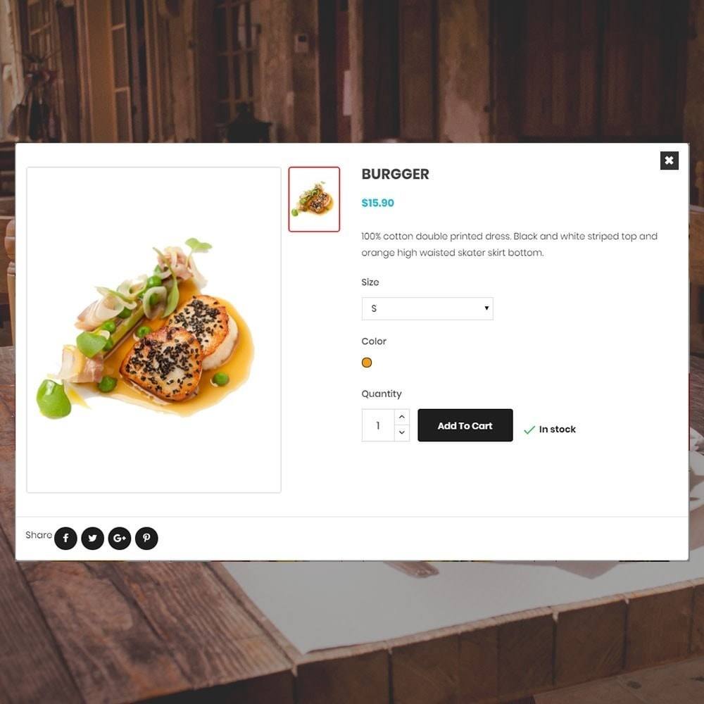 theme - Lebensmittel & Restaurants - Restaurantladen - 7