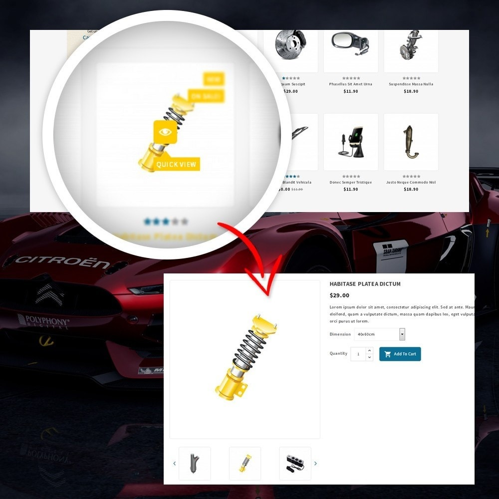 theme - Auto & Moto - CarFlex - The AutoParts Store - 8