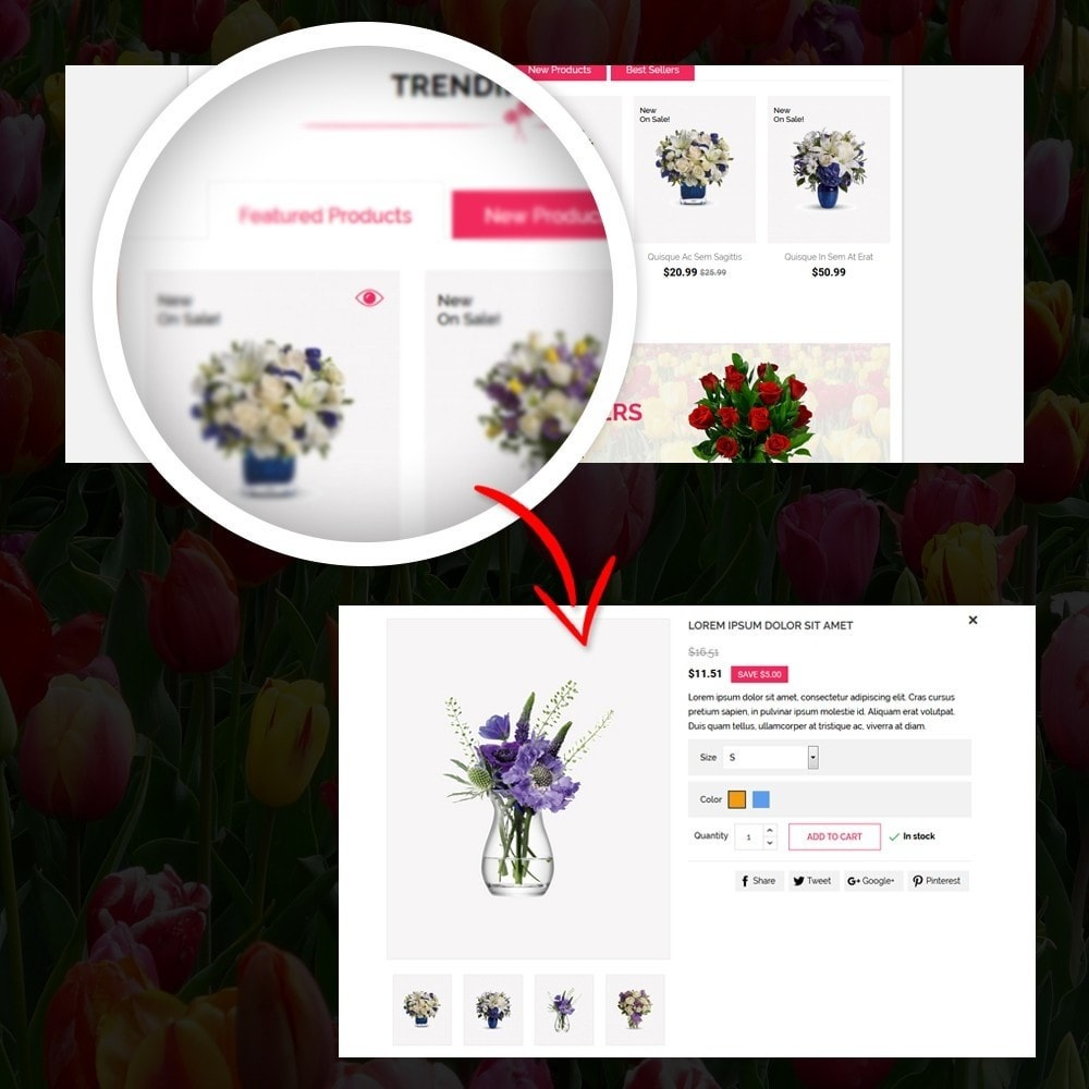 theme - Gifts, Flowers & Celebrations - Woodley - The Flowers Shop - 8