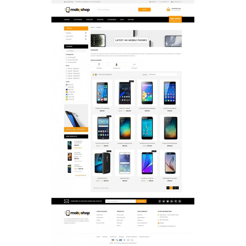 Mobyshop - Online Mobile Store