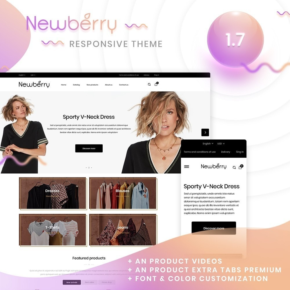 theme - Fashion & Shoes - Newberry Fashion Store - 1