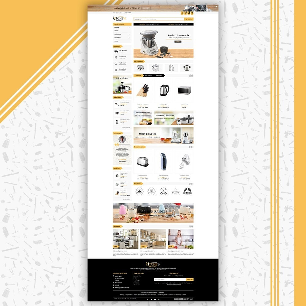 theme - Maison & Jardin - Kitchen Store - 2