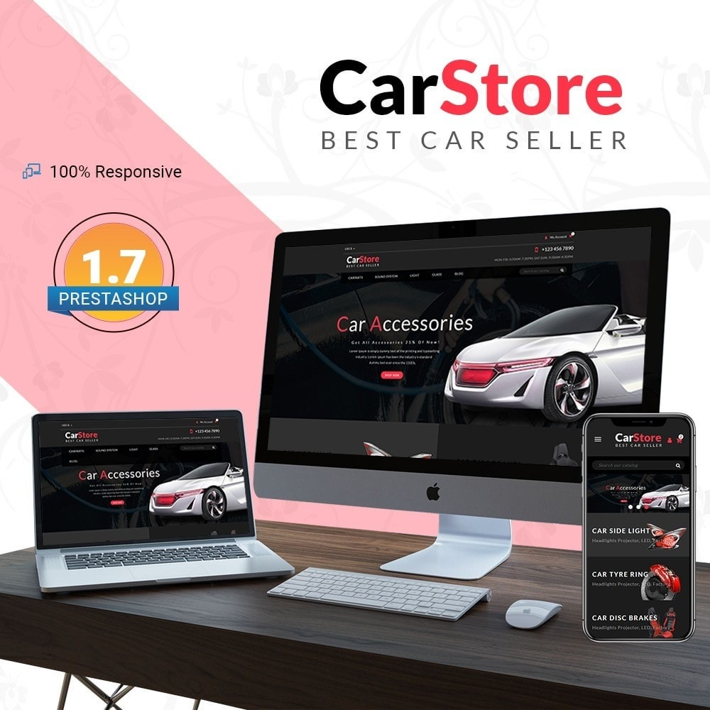 theme - Carros & Motos - Car Store - Car Accessories - 1