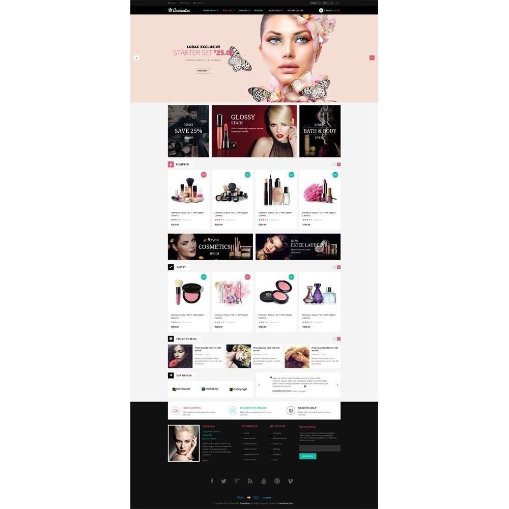 theme - Santé & Beauté - Leo Cosmetics - Bio, Pharmacie, Magasin de beauté - 3