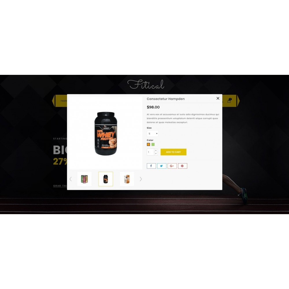 theme - Health & Beauty - Fitical - Fitness Store - 7