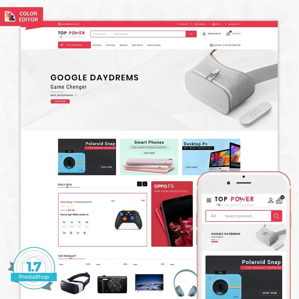Top Tower - The Mega Ecommerce Store